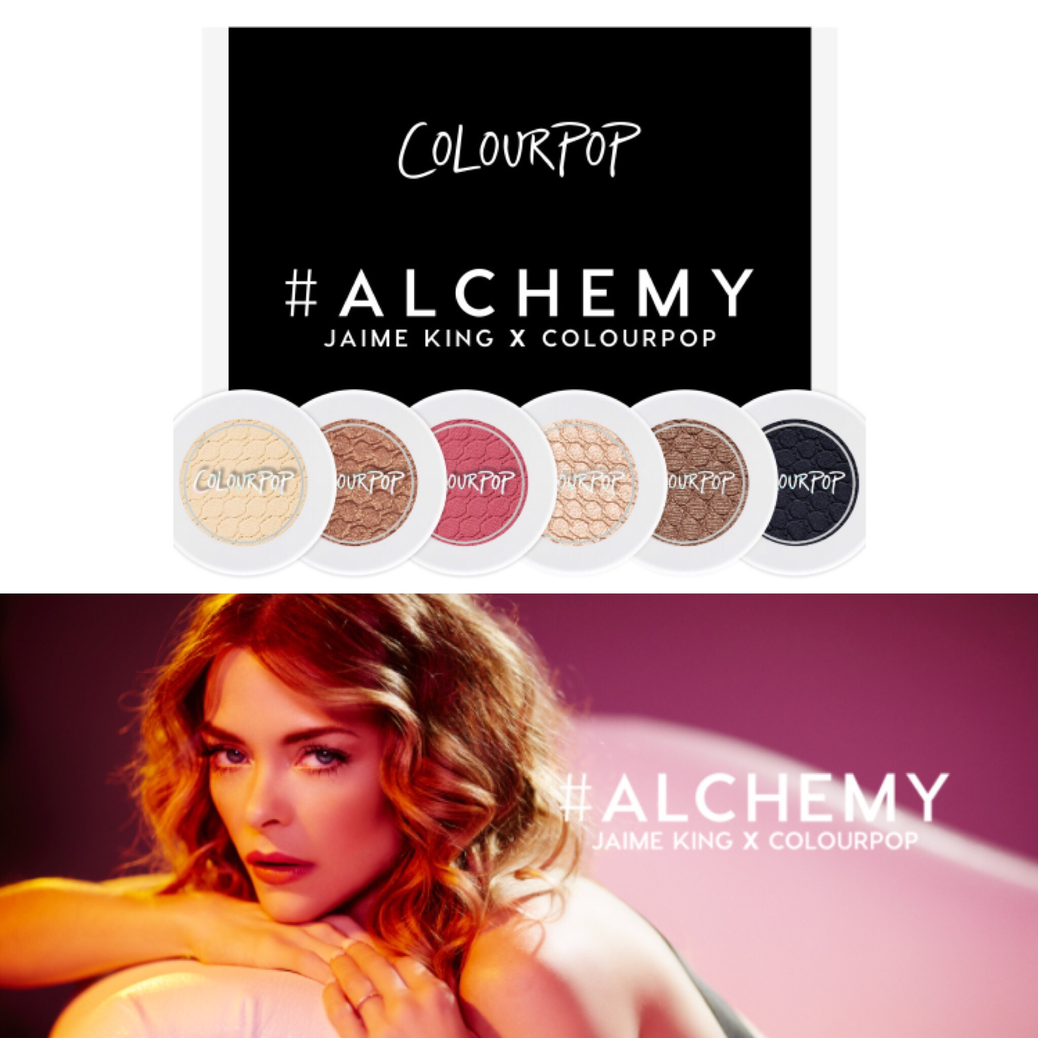 Alchemy Jamie King colourpop