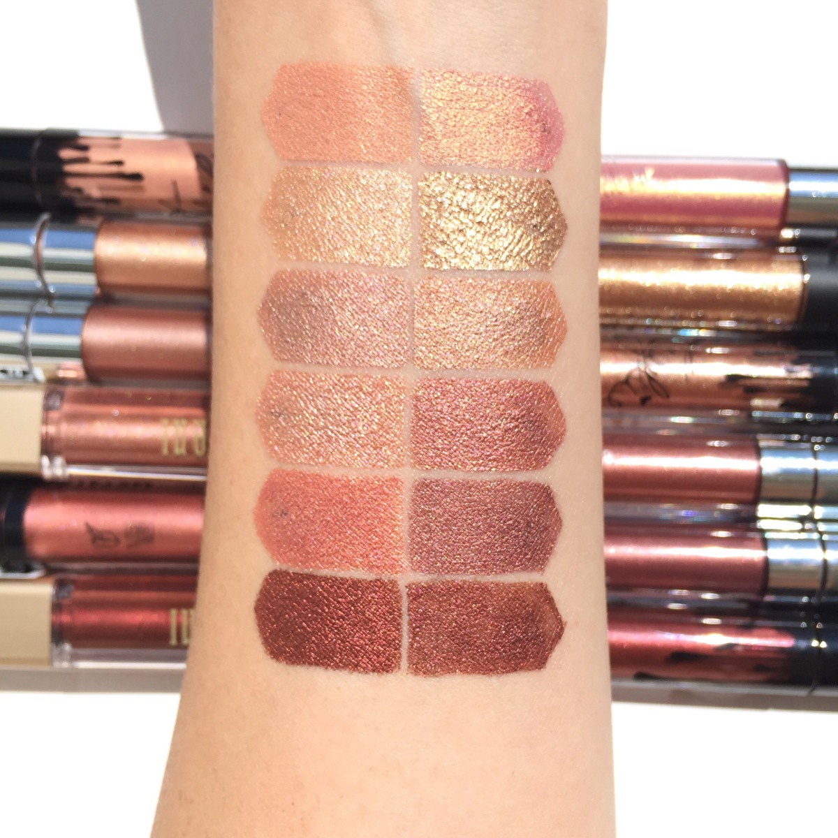 Best Metallic Liquid Lipsticks & Comparisons/Review : Kylie Dupes