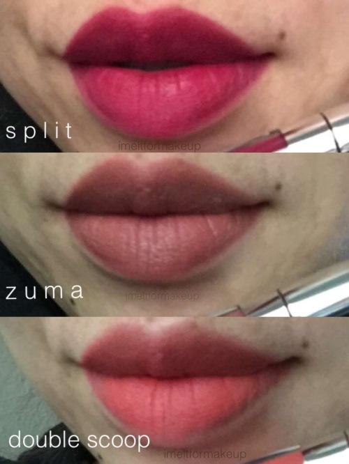 Colourpop Blotted Lip Vs Glossier Generation G Lipstick: I M E L T F O R M A K E U P
